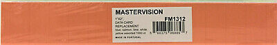 Mastervision Data Card Replacement Assorted 1000pk Fm1312