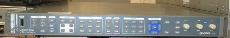 HARRIS VTM-A3-OPT 3 VTM-4100 PKG Waveform Vector Monitor