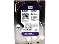 Western digital 6tb hdd purple.