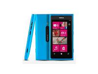Original Nokia Lumia 800,16GB, Boxed, New, Unlocked, Blue Color. Cheap Bargain