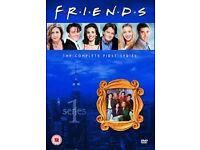 FRIENDS SERIES 1-10 DVD