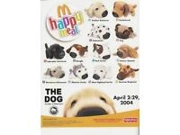 McDONALDS HAPPY MEAL THE DOG TOY NEW SEALED