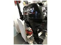 SUZUKI (DF20AS) 2OHP / 4STROKE OUTBOARD / 2016 MODEL / I PAID £2700 INC £500 WORTH OF EXTRAS / VGC