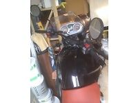 BMWF650GS black, good condition, all rounder, low seat, perfect first big bike