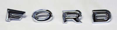 New! 1962-1963 Ford Falcon Hood Letter Set Galaxie Fairlane Ranchero - Hood Letter Set