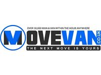UK & EUROPE CHEAPEST & LARGEST MAN AND VAN FROM £15P/H, INSTANT ONLINE QUOTE, WE COVER ALL AREAS