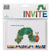Hungry Caterpillar Invitations