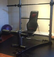 Home Gym - Straight Bar & Curl Bar Included