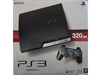 Playstation 3 (PS3) 320Gb Console Boxed