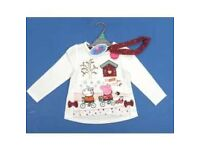 BRAND NEW peppa pig tops with handband FREE DELIVERY