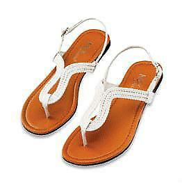 Women s Flat Leather Sandals