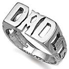 Silver Dad Ring