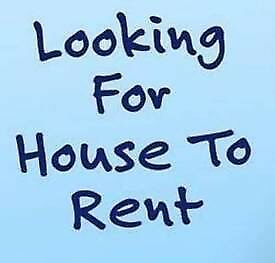 wanted 2/3 bedroom house for rent