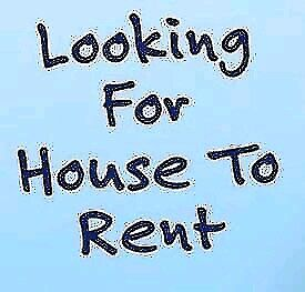 Looking to rent a house outside of city