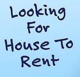 Looking for a 3-4 bedroom house to rent