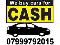 We will buy any car WITH FREE COLLECTION !