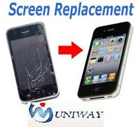 IPhone / IPad / IPod / Samsung/LG Screen Replacements / Repairs