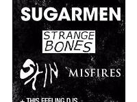 This Feeling - Bristol - Indie Club Night, 4 Bands - Sugarmen, Strange Bones, Skin, Misfires