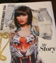 """Jessie J """"Nice to meet you, my story"""", autobiography, hardback"""