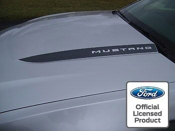 10   12 Ford Mustang Hood Spear Cowl Stripe Graphic Decal Sticker Package   Lsa