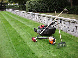 Grass cutting, lawn care and property maintenance