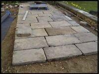 Paving flags, stones, bricks, blocks, sand, gravel, slabs wanted