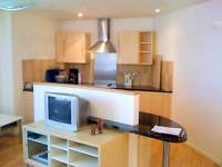 2 bed furnished flat near Leeds city center..private & secure parking