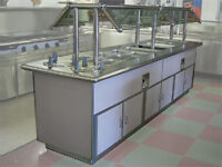 Commercial Kitchen Buffet Table