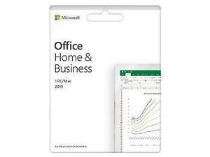 Promo! Microsoft Office Home and Business 2019 English NAPRTT Only Medialess (T5D-03203)