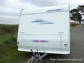 Adria altea 433px 4 berth caravan for sale