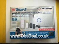 MiGuard G5 Response Wireless Remote Monitor GSM Burglar Alarm