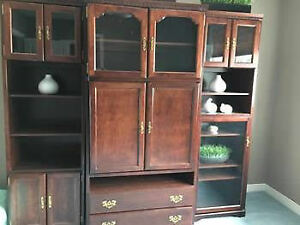 Beautiful 3 Piece Wall Unit for Sale