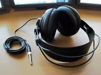 Samson SR850 professional studio open back reference headphones