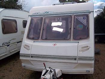 UK Caravan Abbey County Dorset Light Weight