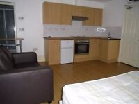 BASEMENT STUDIO FLAT, CLOSE TO THE ROYAL SUSSEX HOSPITAL, INCLUDING COUNCIL TAX AND WATER RATES