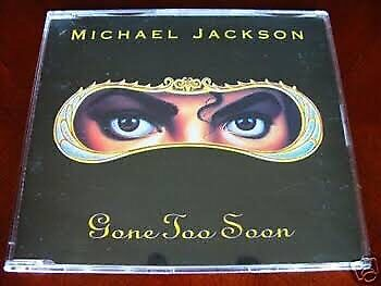 Wanted: Michael Jackson Gone Too Soon CD Single wanted