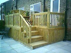 Garden Landscaping & Design - Decking Composite & Wood, Fencing, Gates, Natural Turf & Astro turf.