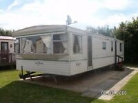 Contractor Accommodation Tunstall Nr Hull Luxury 3 Bed 8 Berth Static Caravan Double Glazed & Heated