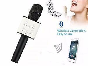 Weekly Promo! WIRELESS BLUETOOTH HANDHOLD  KTV KARAOKE 2 IN1 MICROPHONE & SPEAKER FOR SMARTPHONES