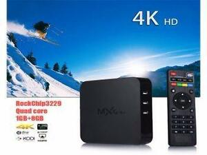 MXQ-4K Android 5.1 Smart TV Box 1+8G H.265 4K HD Media Player Wholesale & Retail! www.factorydirectsale.ca You can p