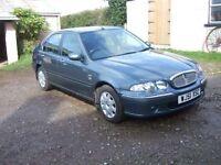 Rover 45 1.4 Petrol Blue 100k mot till 30 october 300 ono