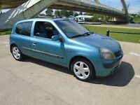 Clio 2002 mint condition £500 Ono or swap for van
