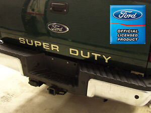Ford F250 Super Duty Tailgate Letters Inserts Stickers Years 2008-2016
