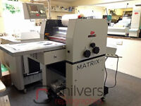 Showroom Matrix MX-370 Laminator