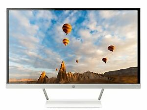 Two HP Pavilion 27inch Monitors, Near brand new