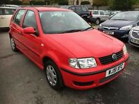 Vw polo 1.4 with mot look s