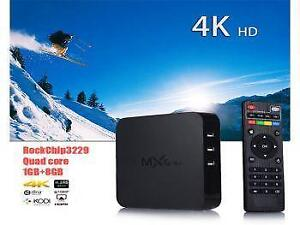 Weekly Promotion ! MXQ-4K QUAD CORE ANDROID 1G/8GB FULL HD4K ANDROID 5.1 TV BOX