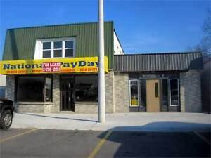 Variety of Commercial Spaces- Available for Lease ASAP