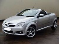 2007 Vauxhall Tigra 1.8 Sport Convertible 55K FSH in Silver with Black Leather