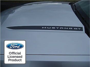 Ford Mustang Hood Spear Cowl Stripe Graphic Decal Sticker Package   Ssb